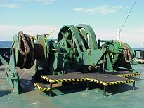 Windlass / mooring winch fwd