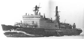 nuclear powered icebreaker 'Arktika'